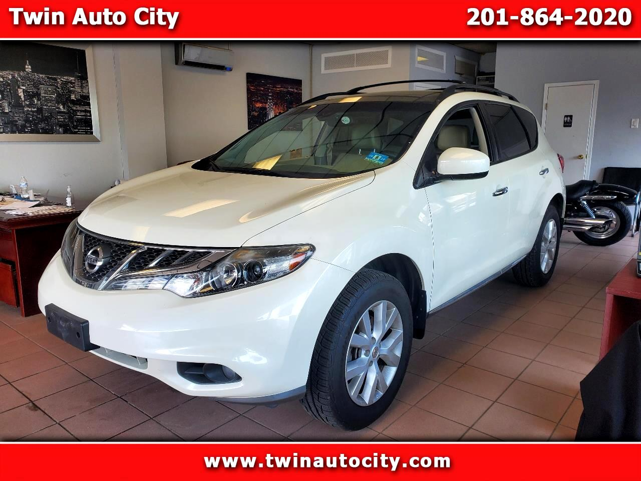 Nissan Murano 2WD 4dr SL 2013