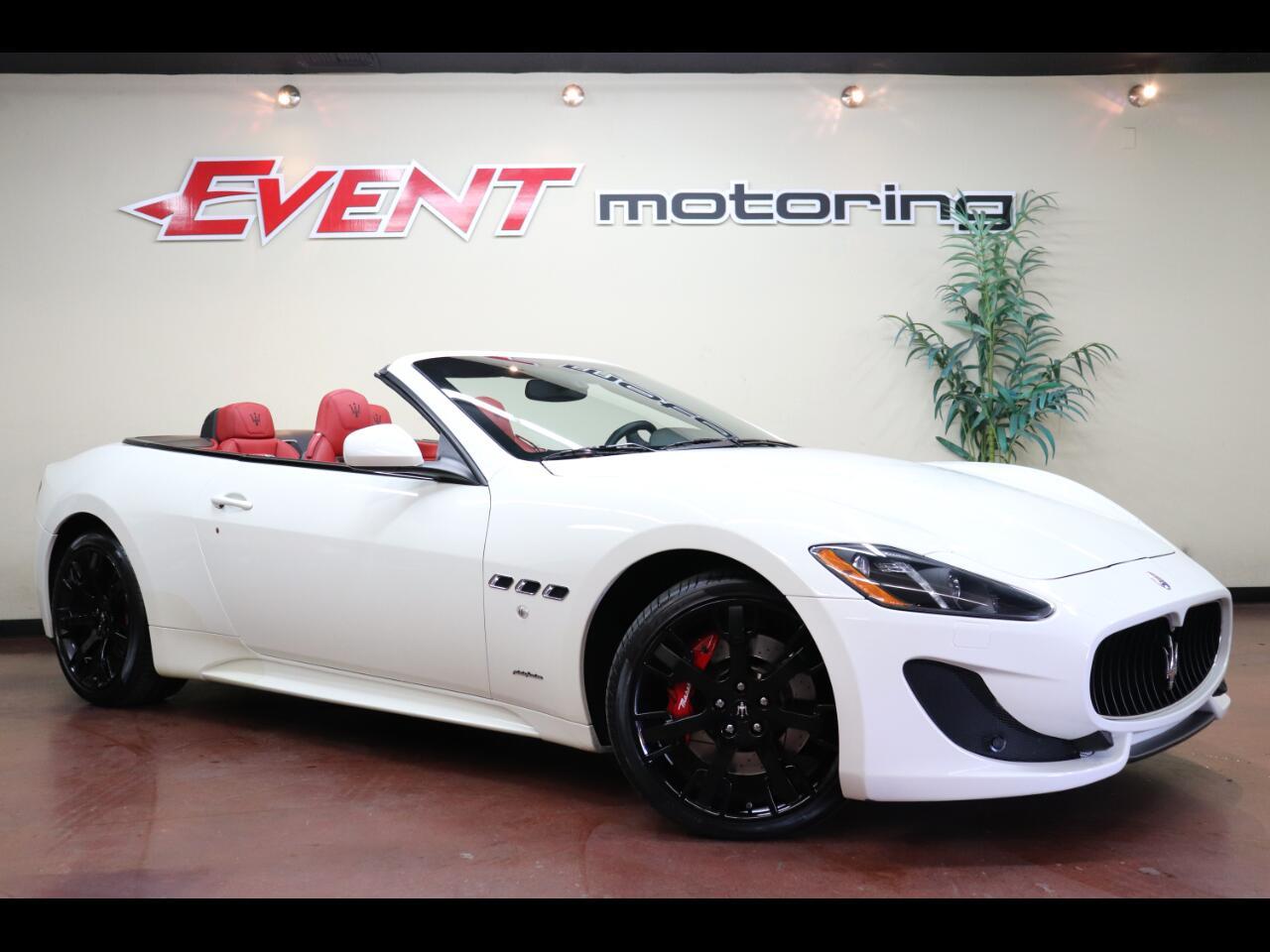 2016 Maserati GranTurismo Sport Convertible