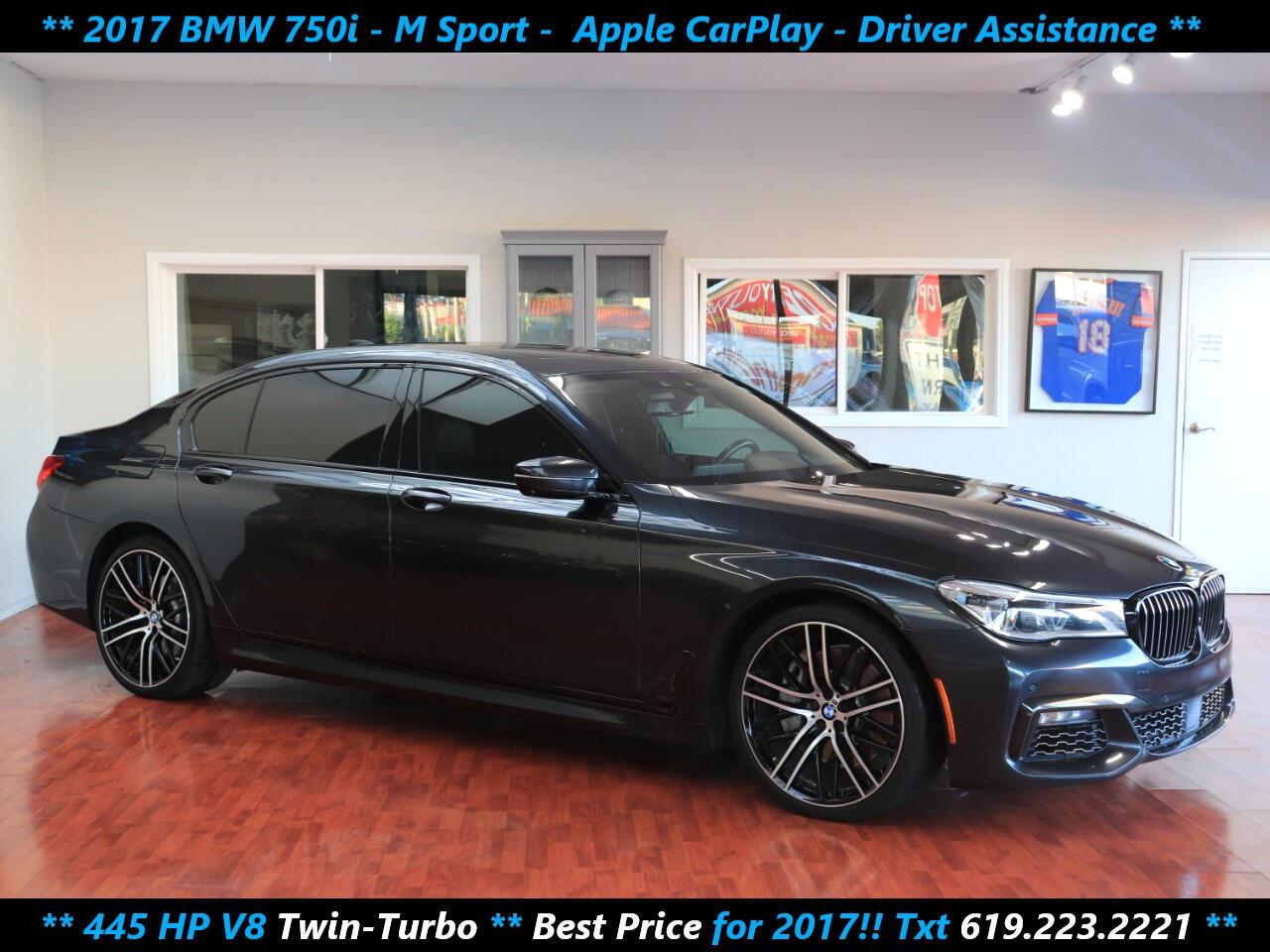 BMW 7-Series 750i 2017