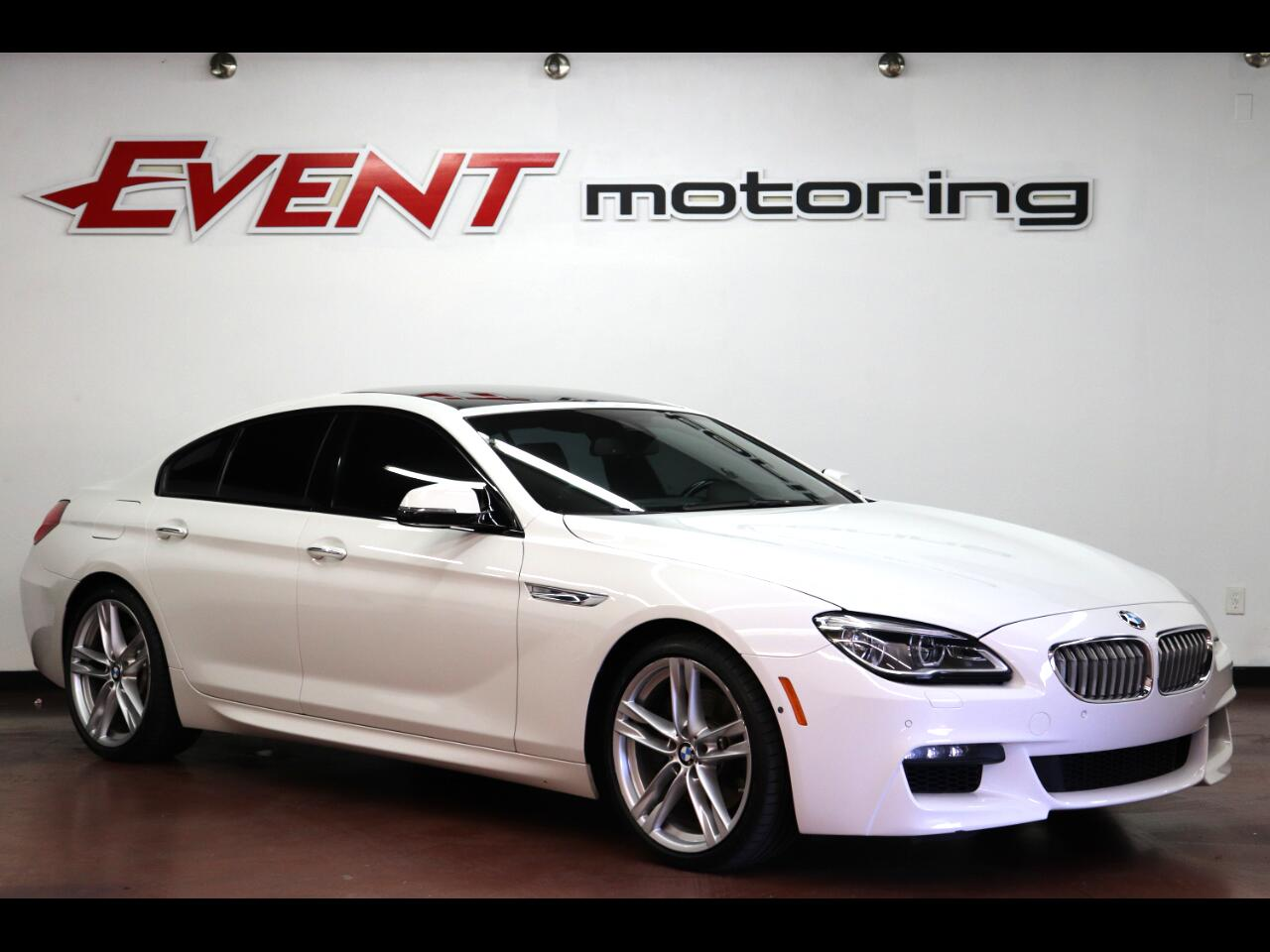 BMW 6 Series 4dr Sdn 650i RWD Gran Coupe 2016