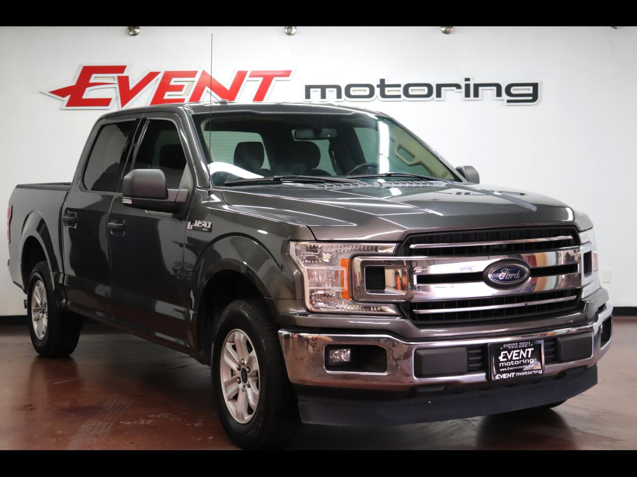 "Ford F-150 2WD Supercab 133"" XLT 2018"