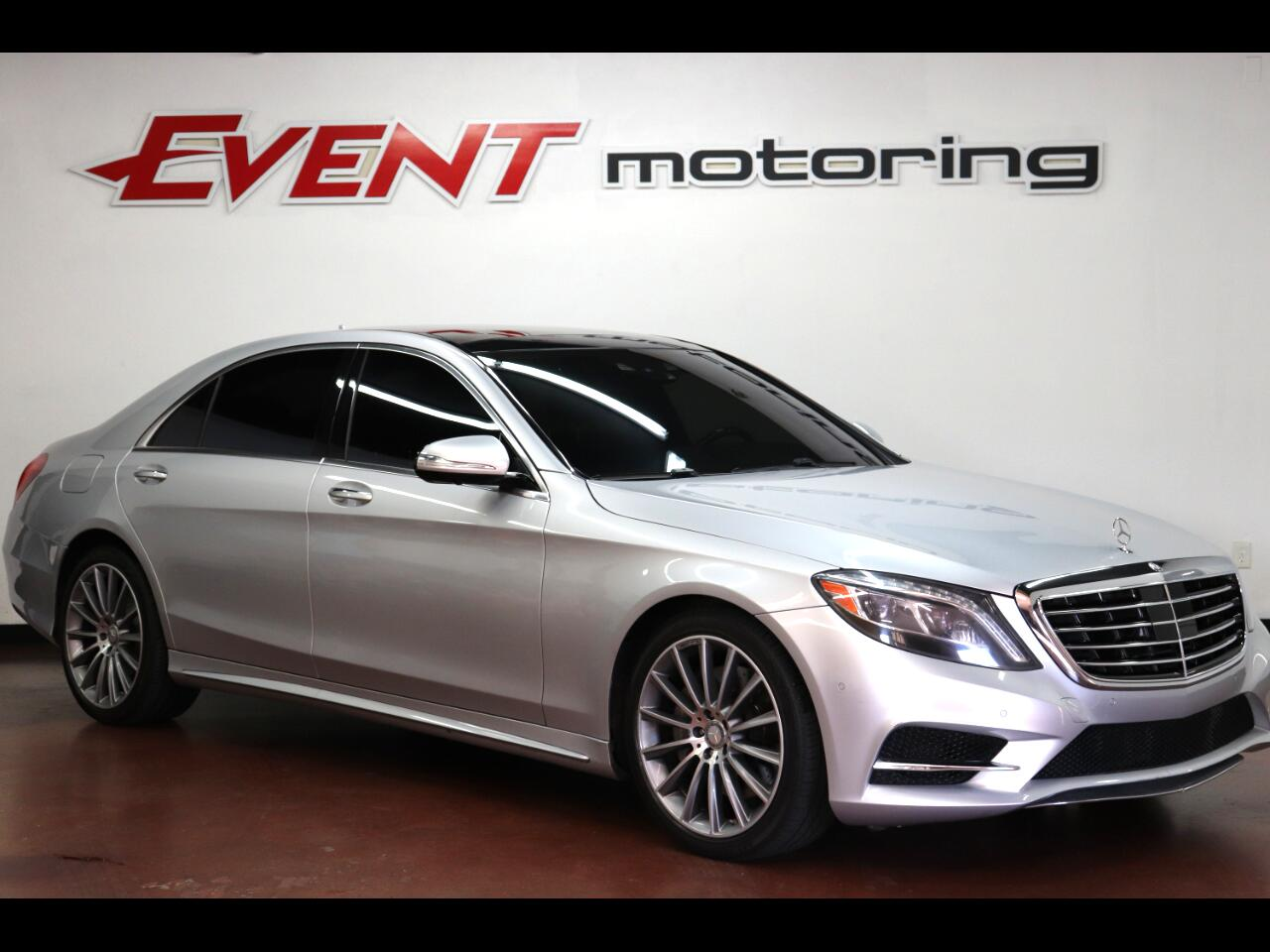 Mercedes-Benz S-Class 4dr Sdn S 550 RWD 2015