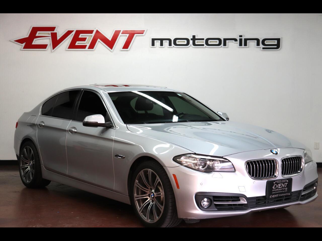 BMW 5 Series 4dr Sdn 528i RWD 2016