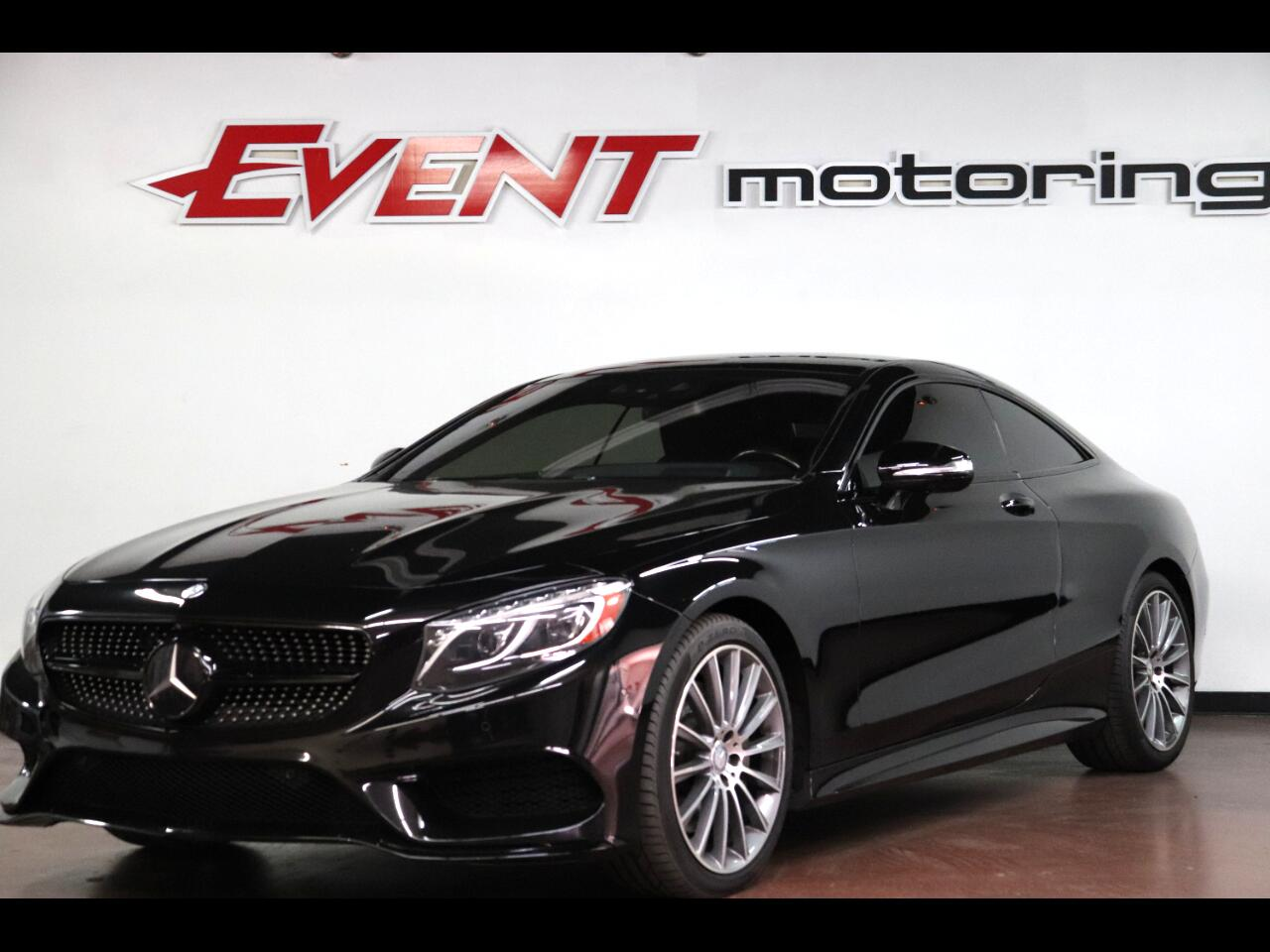 Mercedes-Benz S-Class 2dr Cpe S 550 4MATIC 2015