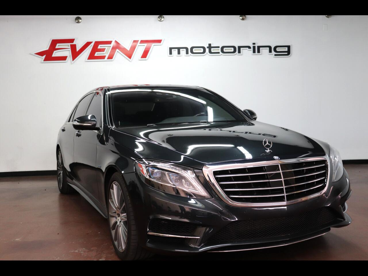 Mercedes-Benz S-Class 4dr Sdn S 550 Plug-In Hybrid RWD 2016