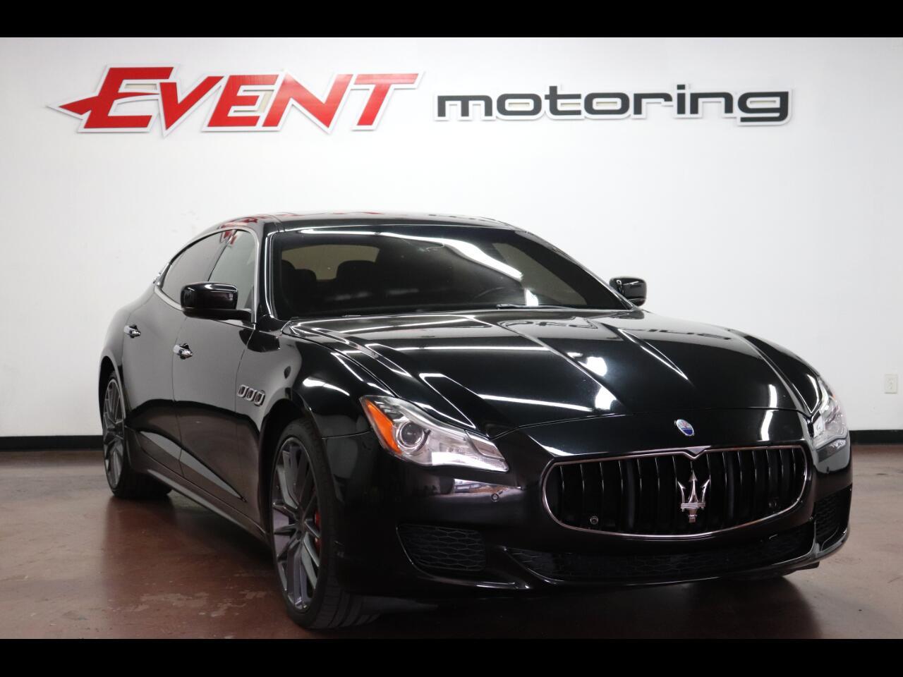 Maserati Quattroporte 4dr Sdn Quattroporte S Q4 2014