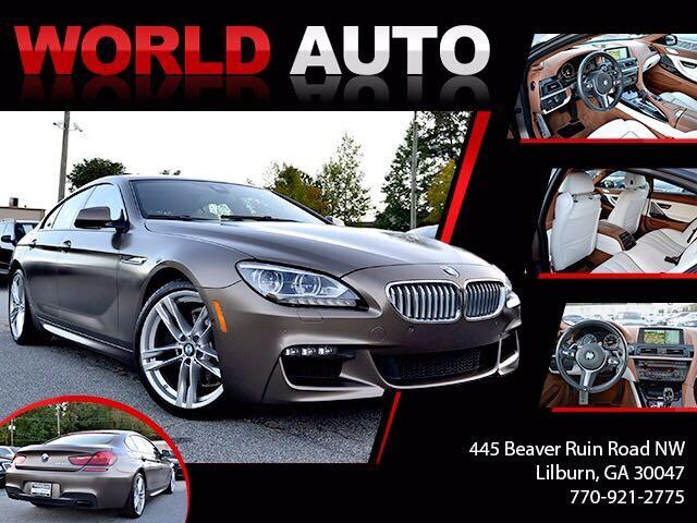 2015 BMW 6-Series Gran Coupe 650i