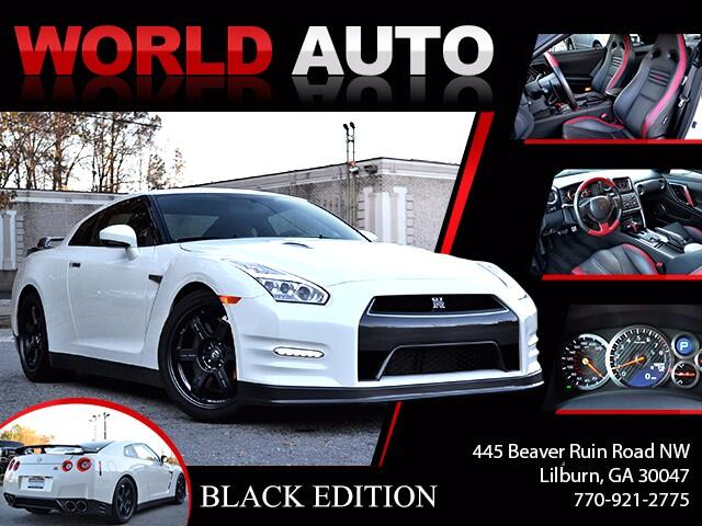 2016 Nissan GT-R 2dr Cpe Black Edition