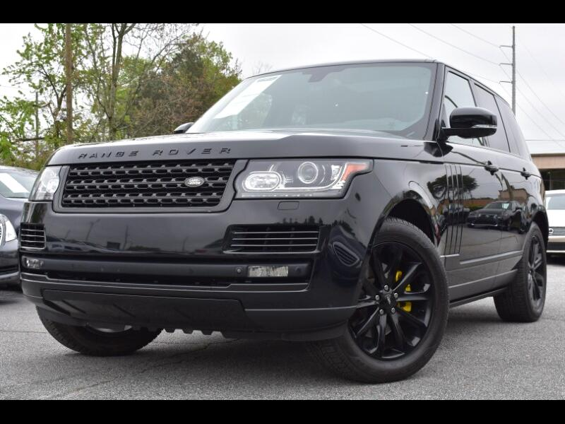 2014 Land Rover Range Rover 3.0L V6 Supercharged HSE