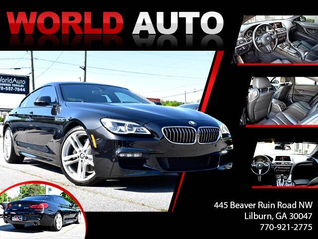 2016 BMW 6-Series Gran Coupe 640i