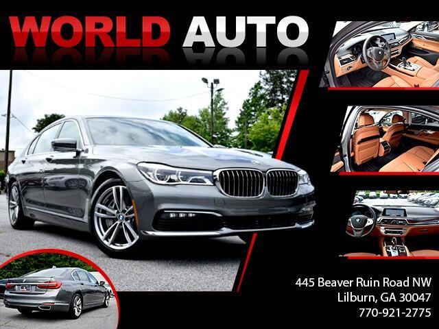 2018 BMW 7-Series 750i