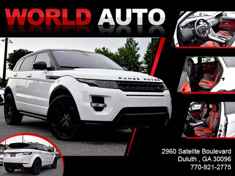 2015 Land Rover Range Rover Evoque Dynamic Premium 5-Door