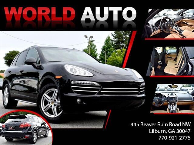 2014 Porsche Cayenne AWD 4dr Diesel Platinum Edition