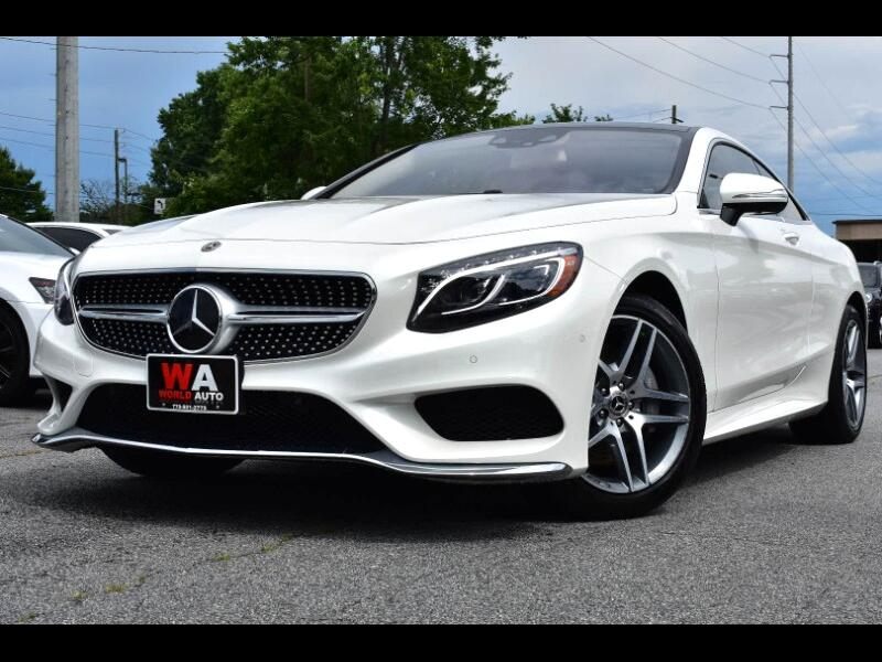 2017 Mercedes-Benz S-Class S550 4MATIC Coupe