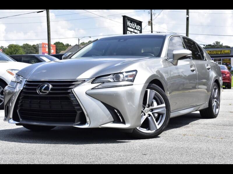 2016 Lexus GS 350 RWD