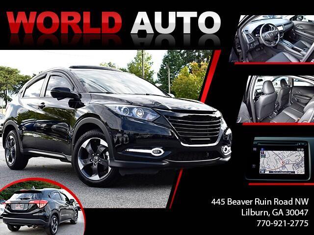 2018 Honda HR-V EX-L w/Navigation 4WD CVT