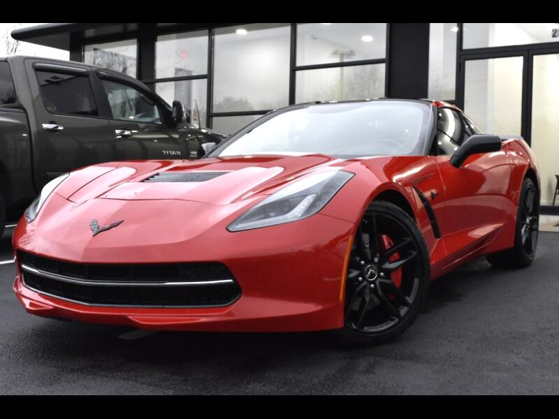 2015 Chevrolet Corvette Z51 3LT Coupe Manual