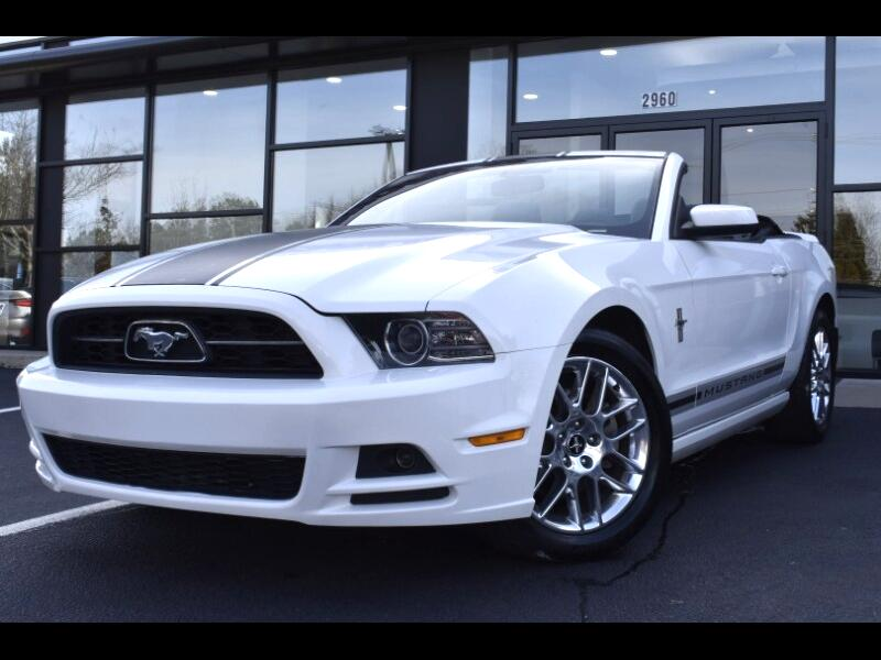 2013 Ford Mustang V6 Premium Convertible