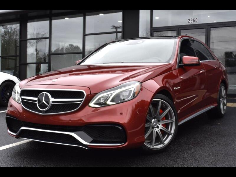 2014 Mercedes-Benz E Class E63 AMG Sedan