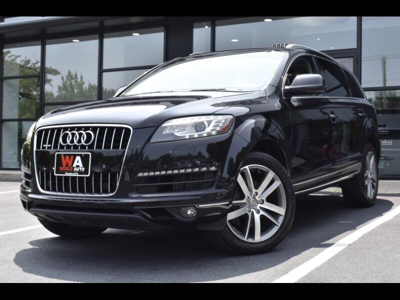 2012 Audi Q7 TDI Premium Plus quattro