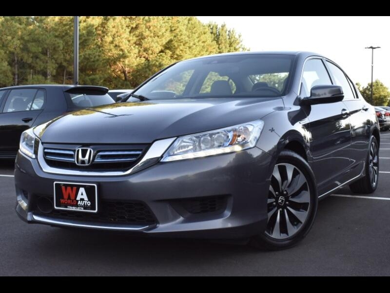 2014 Honda Accord Hybrid Touring Sedan