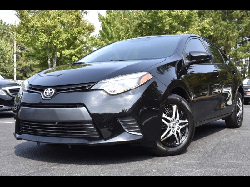2016 Toyota Corolla L 4-Speed AT