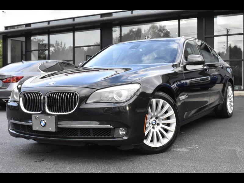 2012 BMW 750i Base