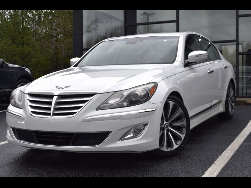 Hyundai Genesis 5.0L R-Spec 2013