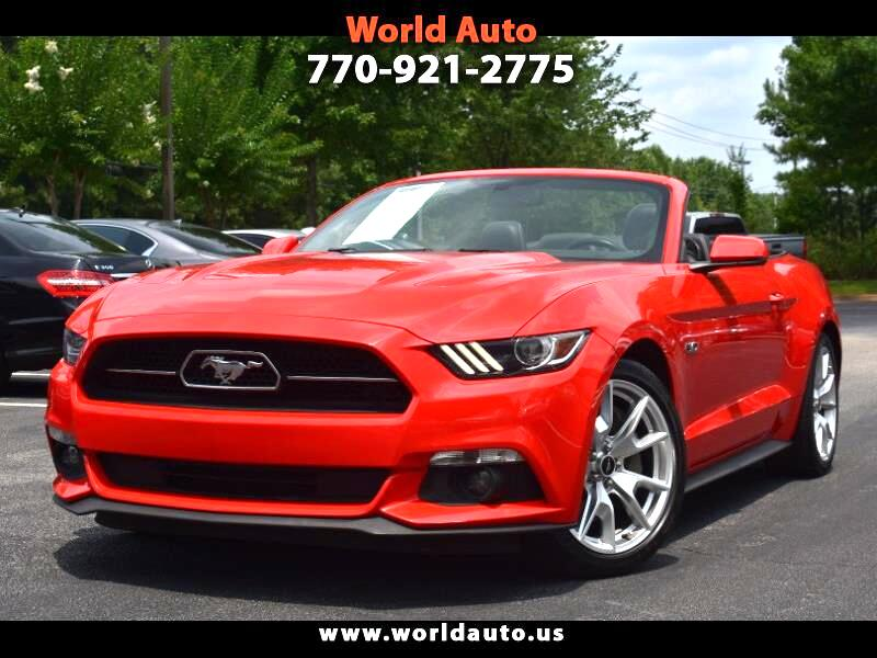 Ford Mustang 50th Anniversary 2015