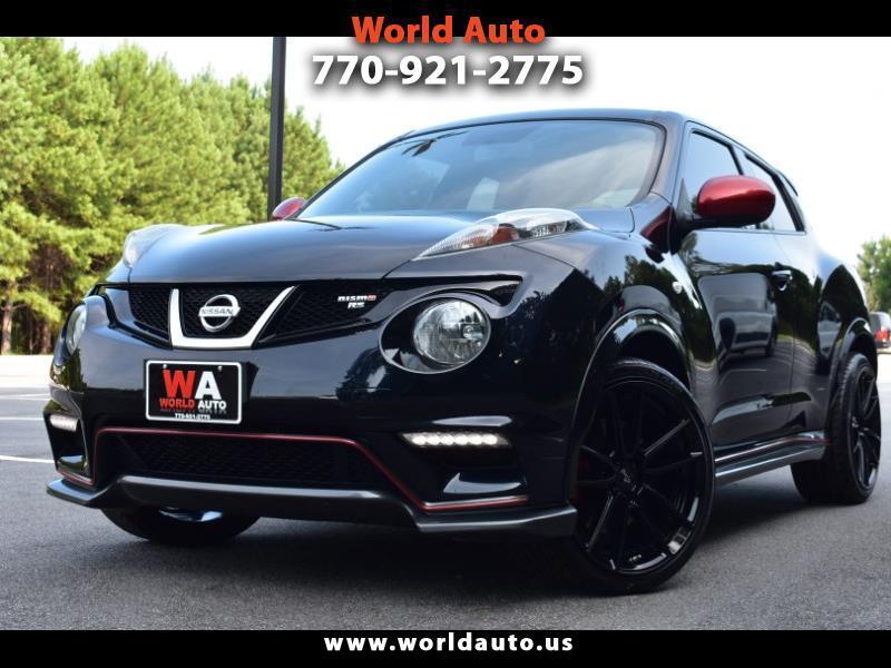 Nissan Juke NISMO RS 6MT FWD 2014