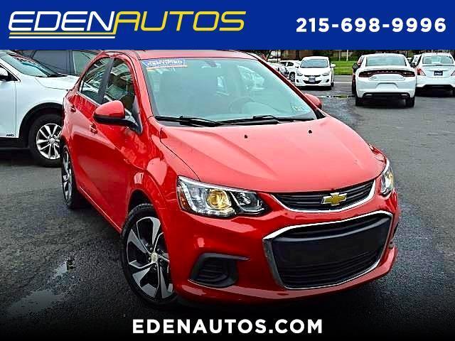 2017 Chevrolet Sonic Premier Manual Sedan