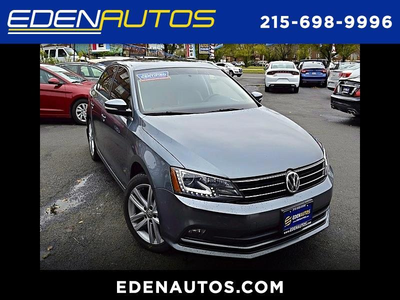 2015 Volkswagen Jetta SEL 6A