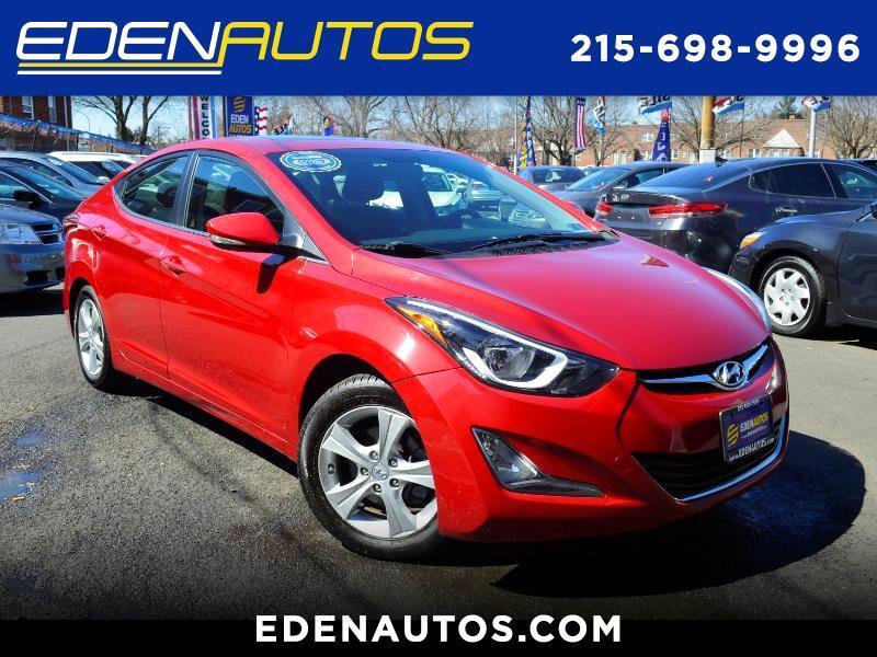 2016 Hyundai Elantra VALUE ED