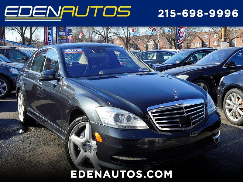 Mercedes-Benz S-Class 4dr Sdn S 550 RWD 2013