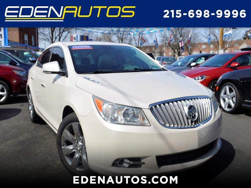 Buick LaCrosse 4dr Sdn CXS 2010