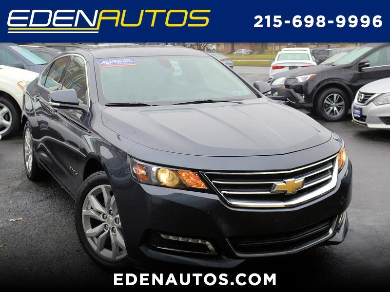 Chevrolet IMPALA LT 4dr Sdn LT w/1LT 2018