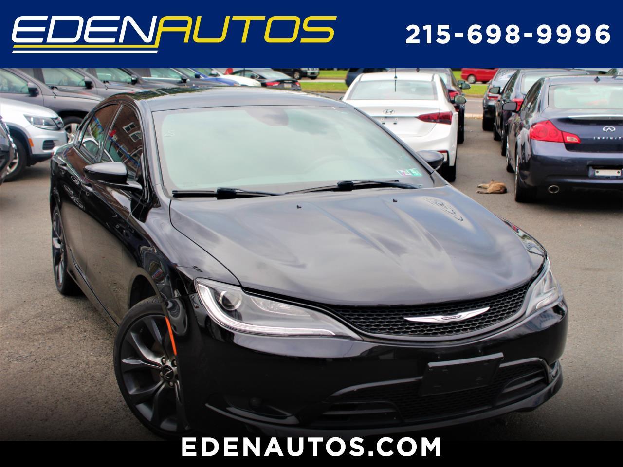 Chrysler 200 4dr Sdn S FWD 2015