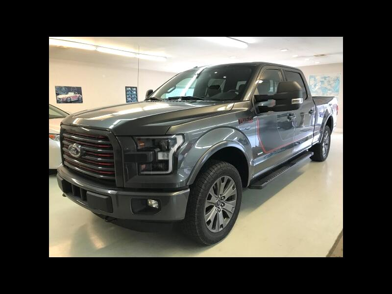 2016 Ford F-150 Lariat SuperCrew 6.5-ft Box 4WD