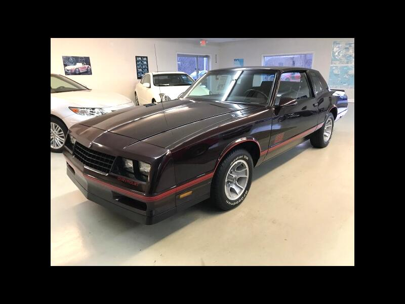 1988 Chevrolet Monte Carlo SS Sport