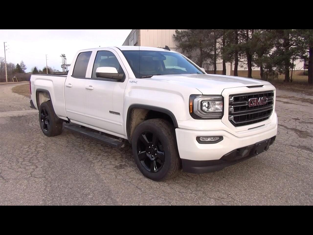 2017 GMC Sierra 1500 Elevation Double Cab 4WD