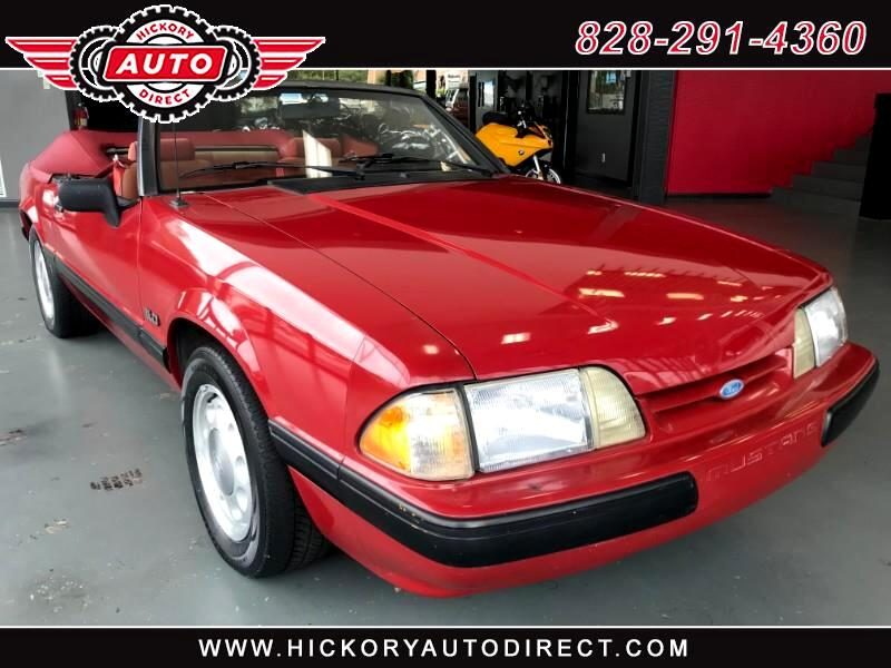 1988 Ford Mustang LX convertible