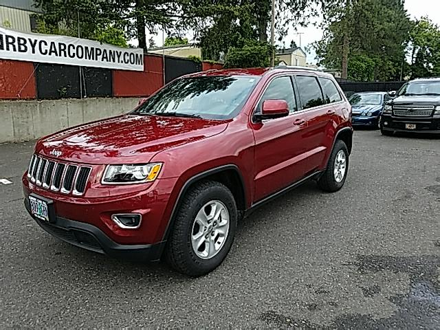 2014 Jeep Grand Cherokee Laredo 4WD LEATHER! LOADED! ONE OWNER!