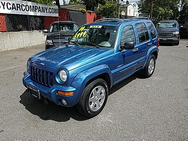 2004 Jeep Liberty Limited 4WD CLEAN CARFAX!  SUPER CLEAN!  SERVICE R