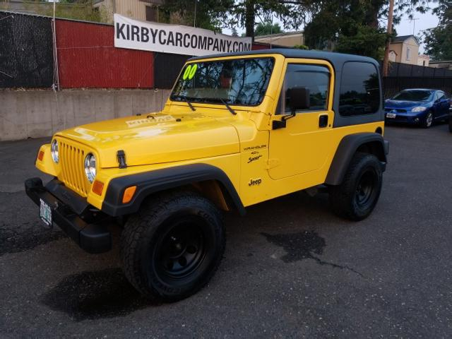 2000 Jeep Wrangler Sport  HARD SOFT & BIKINI TOPS!  LOW MILES!  CLEAN