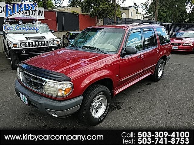 2000 Ford Explorer XLT 4Dr 4WD  LEATHER! MOON! CLEAN CARFAX!