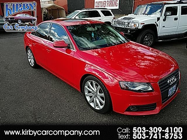 2011 Audi A4 2.0T Premium Plus 4D Sedan CLEAN TITLE!  30MPG!