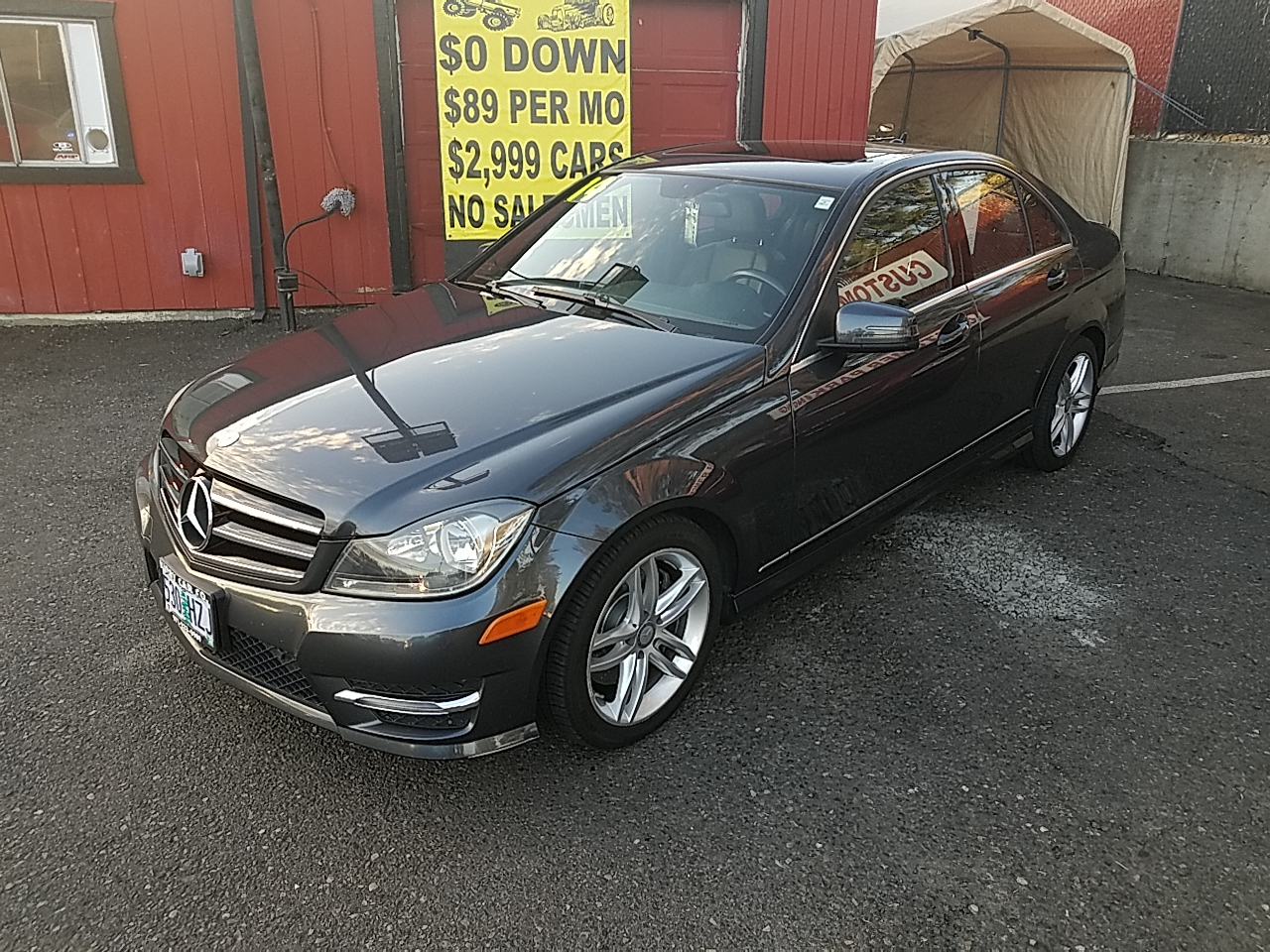 2014 Mercedes-Benz C-Class C300 4MATIC Sport Sedan EVERY OPT! CLEAN TITLE!