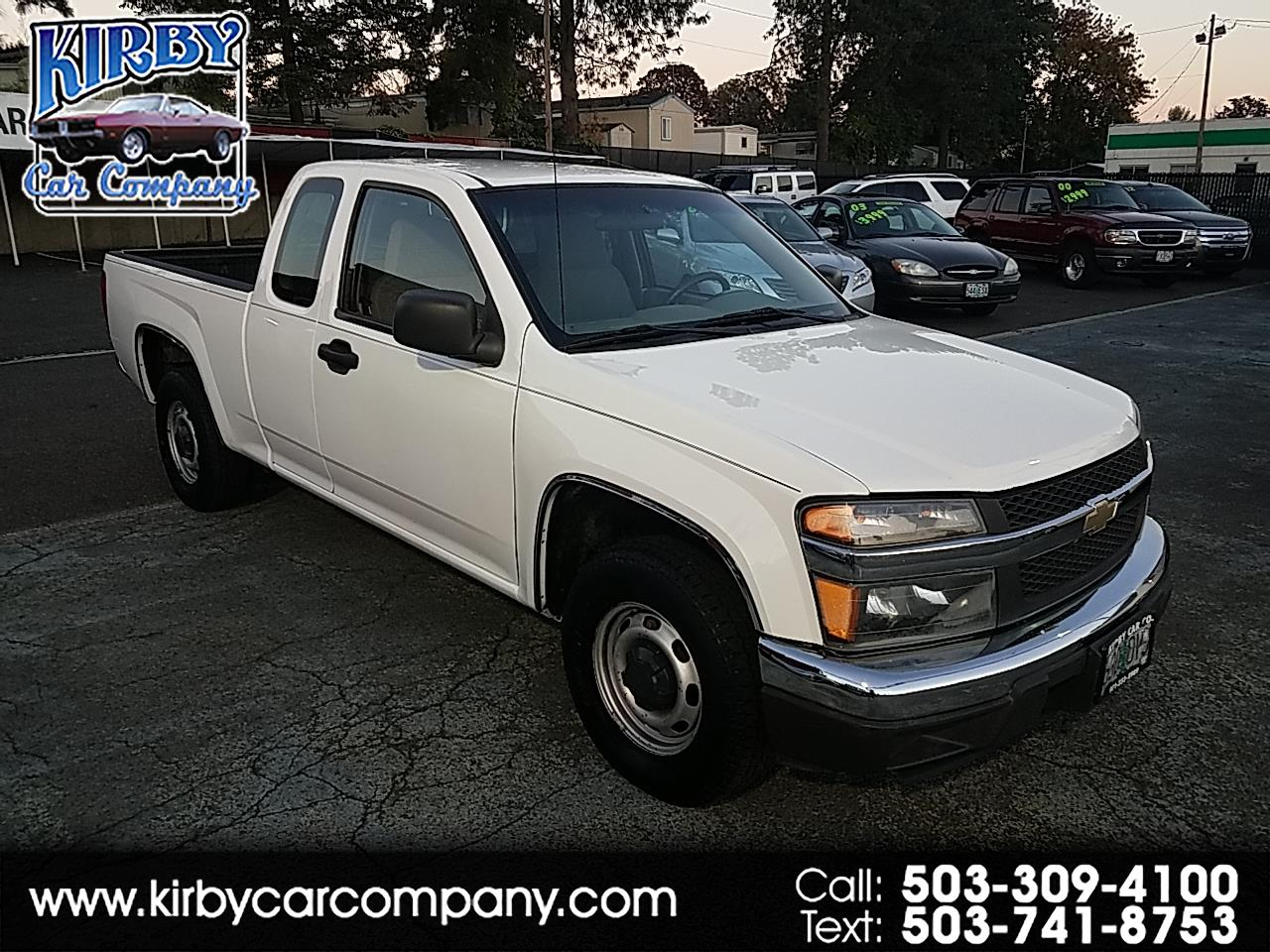 2008 Chevrolet Colorado Work Truck Ext. Cab 2WD 4-CYL  CLEAN TITLE!!