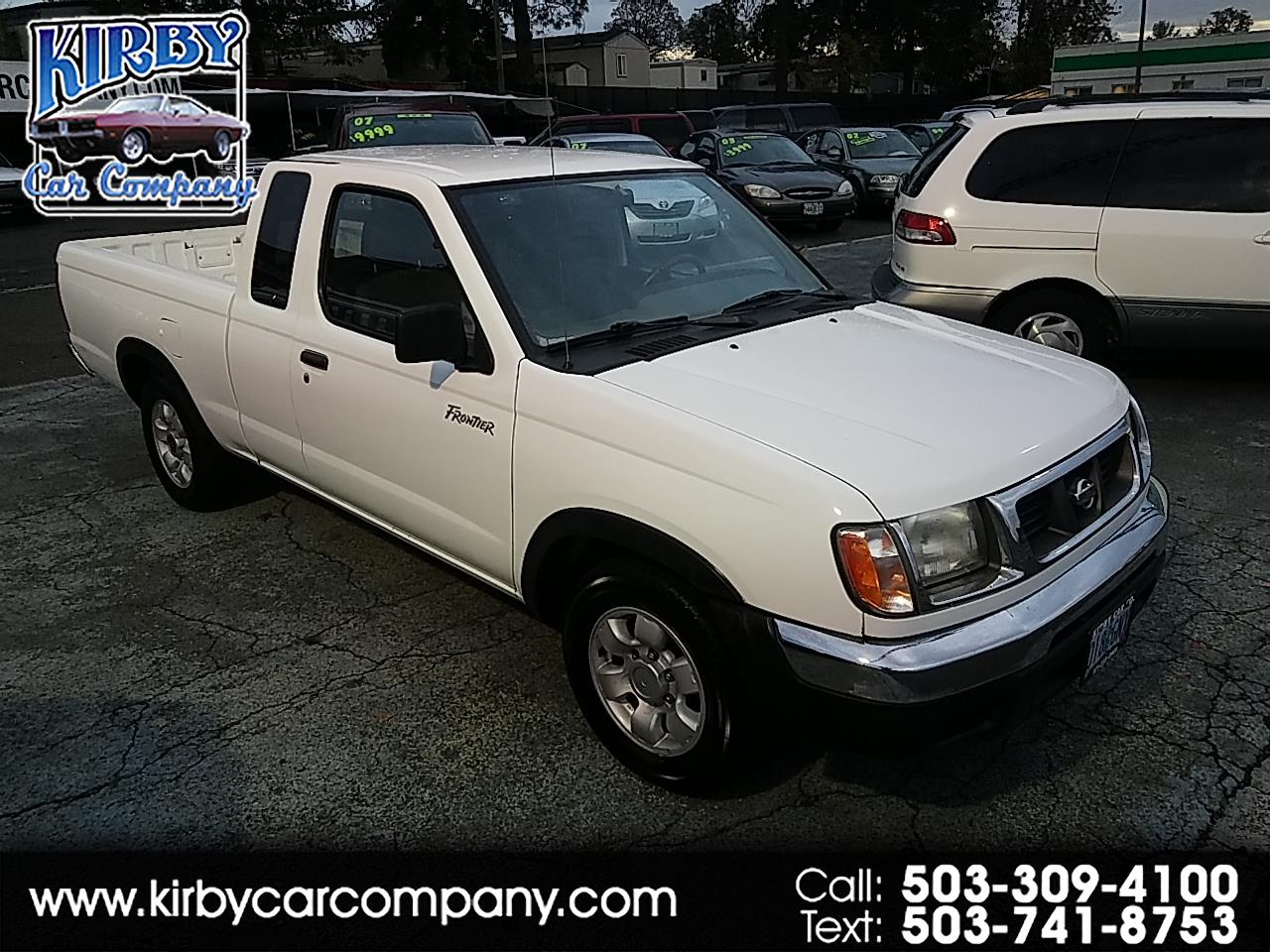 1999 Nissan Frontier XE King Cab 2WD 4-CYL AUTOMATIC! CLEAN TITLE!
