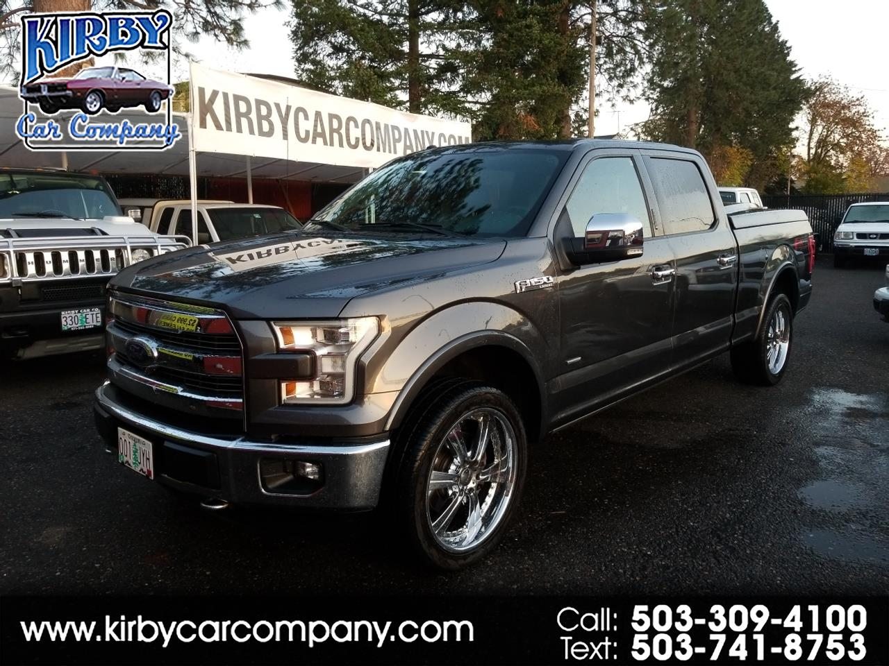 2015 Ford F-150 SuperCrew 4WD Lariat 6.5 Ft Bed  EVERY OPTION!!